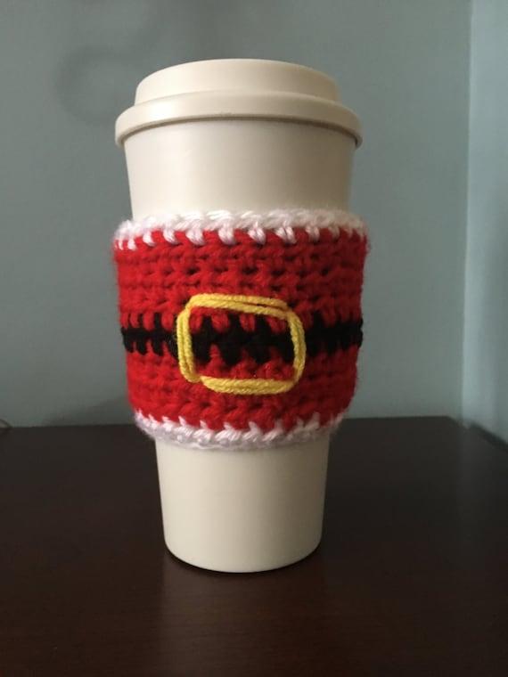 Santa I Know Him Coffee Cozy