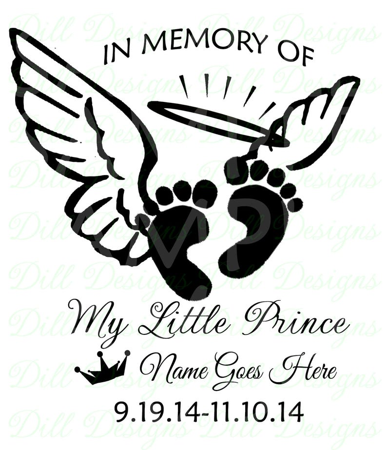 Download In Loving Memory Infant Loss My Little Prince Feet