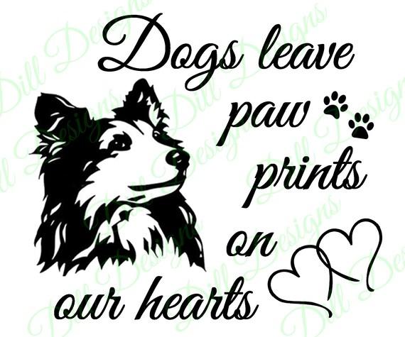 Funny My Dog Loves Me SHELTIE Dog Vinyl Car Van Sticker Pet Animal Lover