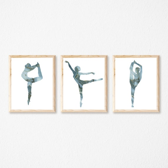 picture poster home decor print wall art gift dance Ballet Duo