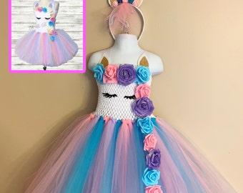 257f84cfb5e5 Unicorn Dress, Unicorn Birthday Tutu Dress, Unicorn Tutu Dress, Unicorn Tutu,  Unicorn Princess, Unicorn Birthday