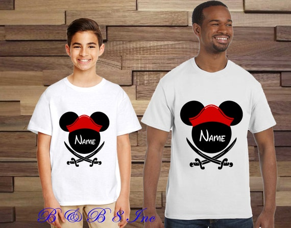 Pirate Mickey Shirts, Disney Pirate Family Shirts, Custom Disney Shirts, Disney Cruise Shirts
