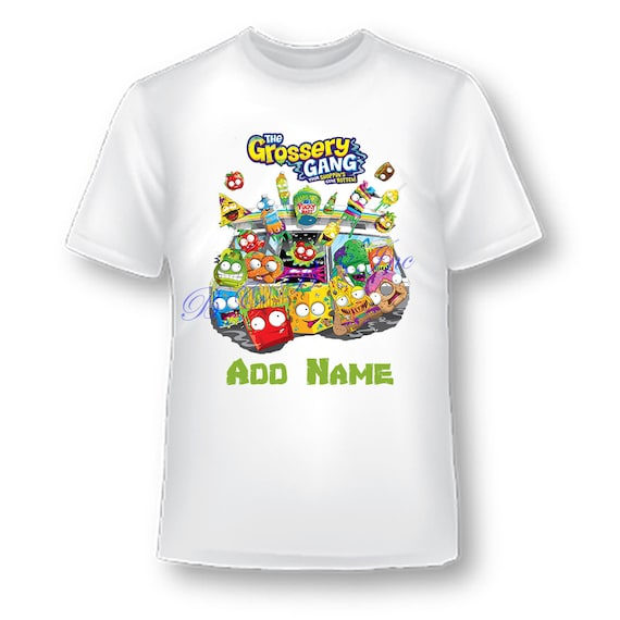 Grossery Gang Shirt,Girls Grossery Gang Shirt, Boys Grossery Gang Shirt, Boys Birthday Shirt, Grossery Gang, Custom Birthday Shirt
