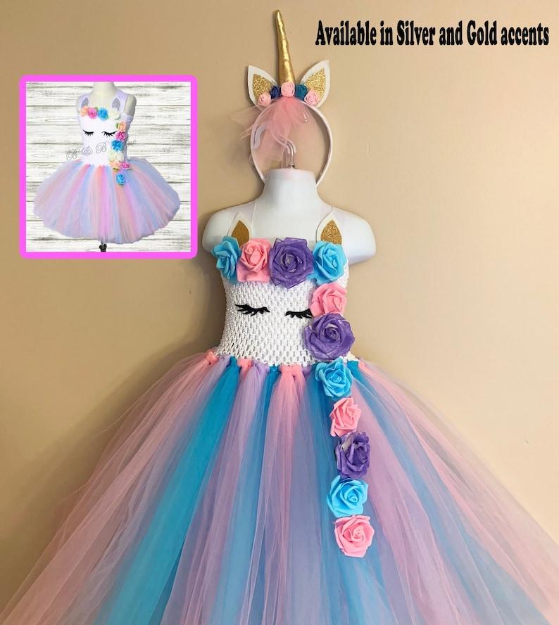 6ea1756f26a Unicorn Dress Unicorn Birthday Tutu Dress Unicorn Tutu