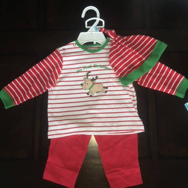 On SALE! SAME DAY Shipping! My First Christmas Outfit f4b93c275