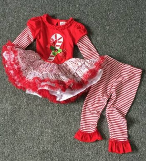 Christmas Girls Outfit, Girls Christmas Outfit, Christmas Girls Candy Cane Outfit, Boutique Christmas Outfit, Boutique Christmas Bows
