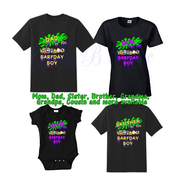 Grossery Gang Birthday Shirts, Grossery Gang Family Birthday Shirts