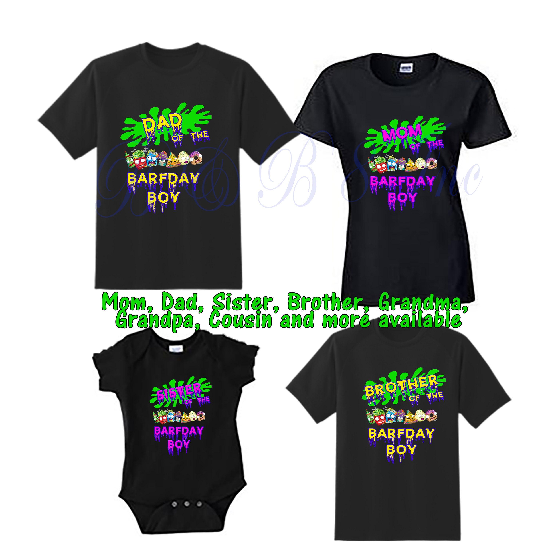 95ef95da7 Grossery Gang Birthday Shirts, Grossery Gang Family Birthday Shirts