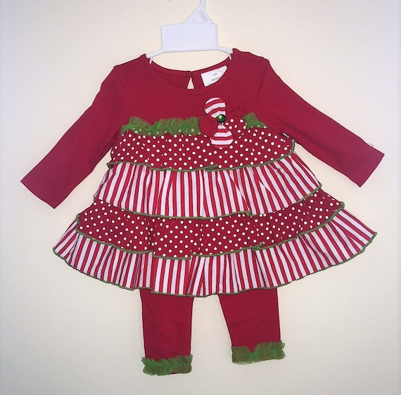 SALE! SAME DAY Shipping! Christmas Girls Outfit, Girls Christmas Outfit, Girls Christmas Shirt, Boutique Christmas Outfit