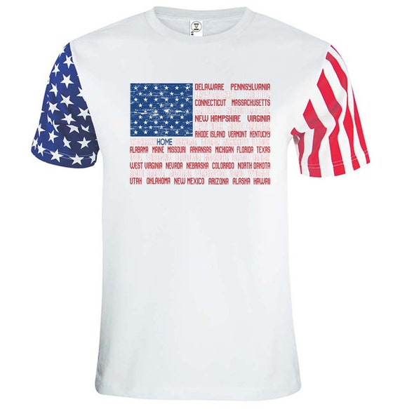 Ohio is Home Shirt, USA Shirt, Ohio is my home shirt, Stars and stripes shirt, I love Ohio
