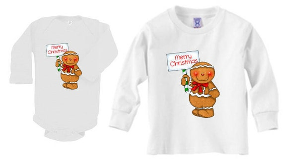Christmas Shirt, Gingerbread Man Shirt, Merry Christmas Shirt, Christmas