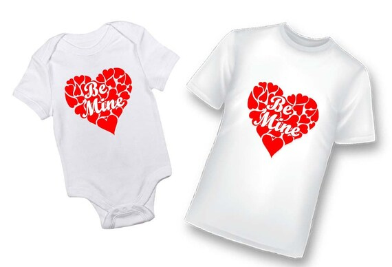 Valentines Day Shirt, Valentines Day Bodysuit Hearts, My First Valentines Day
