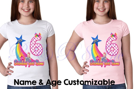 JoJo Siwa Birthday Shirt Outfit