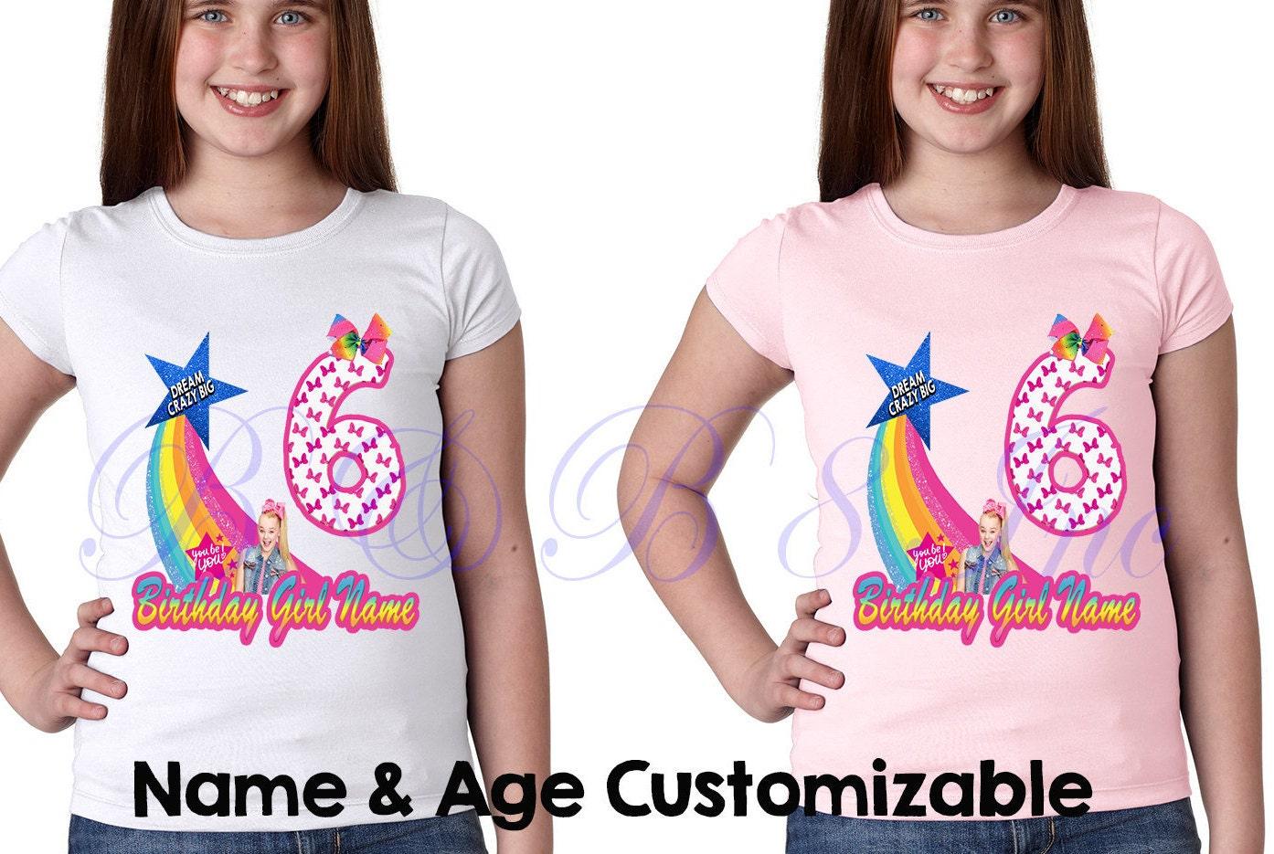 JoJo Siwa Birthday Shirt Outfit