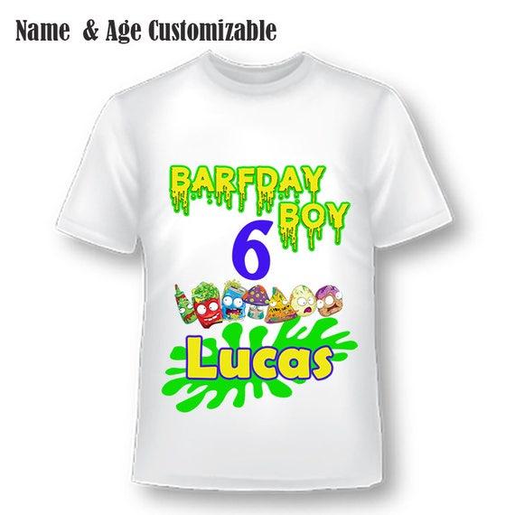 Grossery Gang Birthday Shirt, Boys Birthday Shirt, Grossery Gang, Custom Birthday Shirt