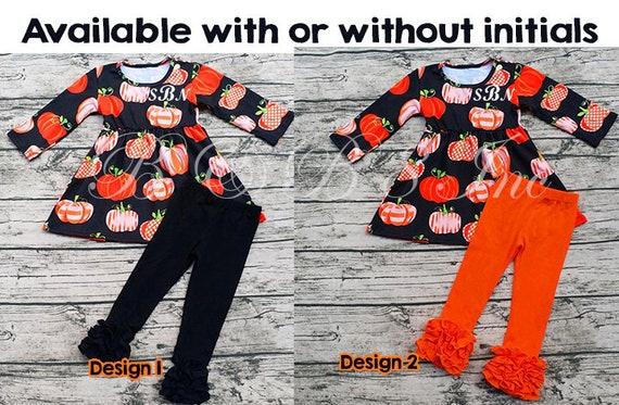 Pumpkin Outfit, Cutest Pumpkin in the Patch, Fall Outfit, Icing Pants, Icing Shirt, PersonalizedLong Sleeve Fall Shirt **Ready to Ship**