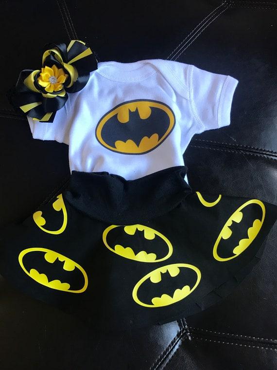 Batgirl Outfit, Batgirl bodysuit, Batgirl skirt, Batman inspired outfit