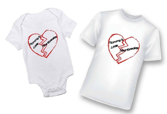 Valentines Day Shirt, Valentines Day Bodysuit, Hearts, My First Valentines Day, Heartbreaker Shirt, Mommy's Little Heartbreaker Shirt