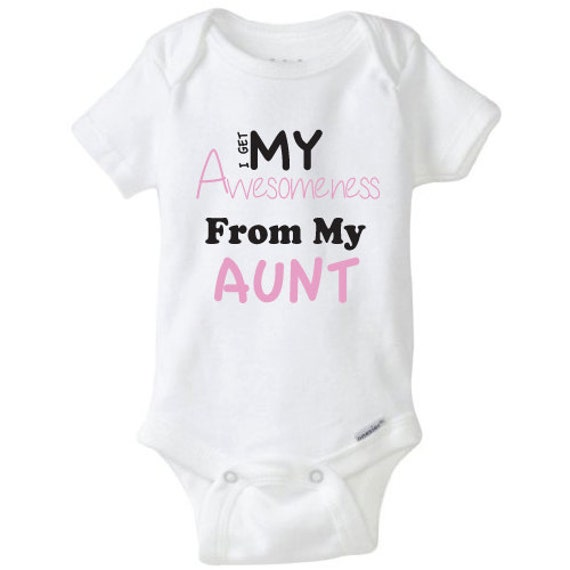My Awesome Aunt Bodysuit