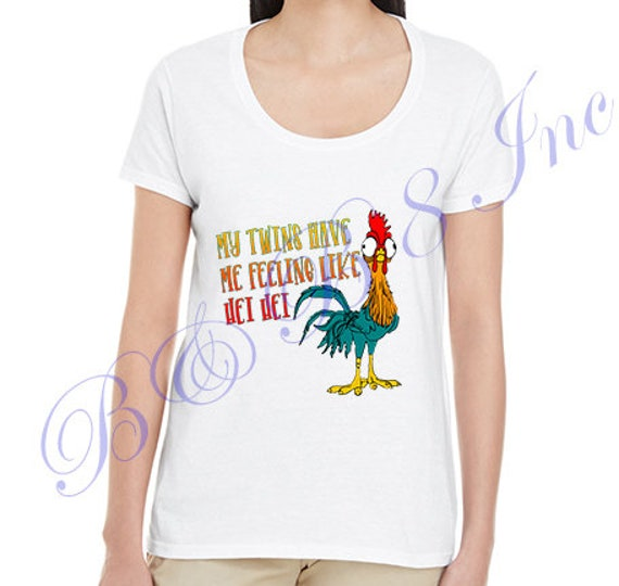 Twins have me feeling like Hei Hei, Twin Mom, Mom to Twins, Mothers Day Gift, Mom of Twins, Hei Hei Shirt