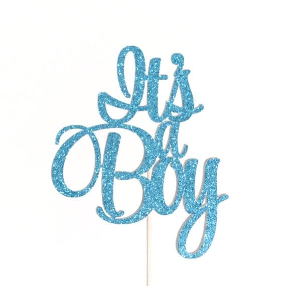 Its a Boy Cake Topper Baby Shower Cake Topper Baby Boy ...
