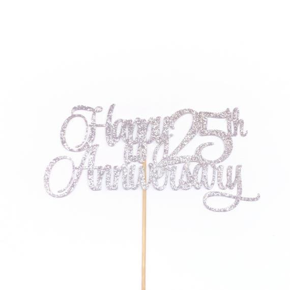 70TH Anniversaire Argent strass gâteau topper décoration soixante-dix 70 th anniversary