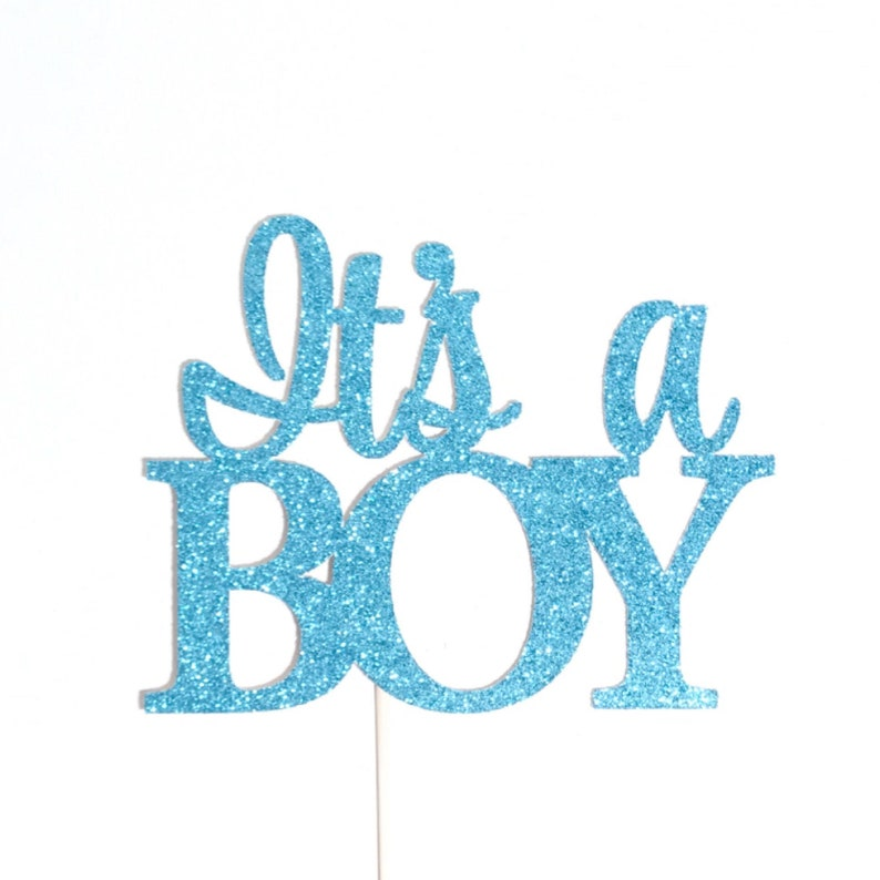 643edaca9068a Its a Boy Cake Topper, Baby Boy Cake Topper, Baby Announcement, Gender  Reveal Cake Topper, Baby Shower Cake Topper, It's a Boy Cake Topper