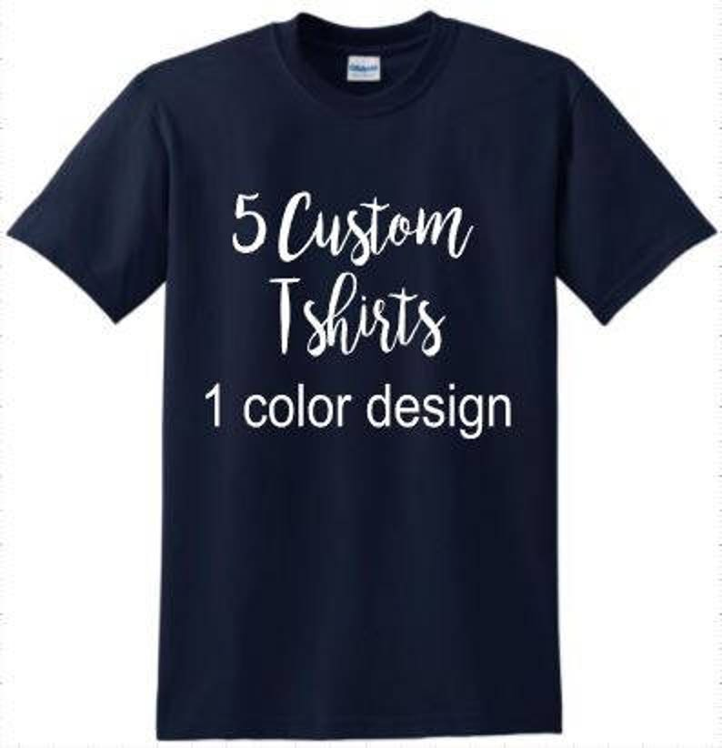 ff75c079 Custom t-shirts bulk design own t-shirt team club support   Etsy