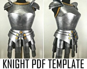 3 Medieval Breastplate Warrior Roman Cosplay Costume FOAM Knight Armor Crusaders