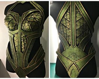 Costume da bagno intero cosplay di Atlantis Queen Mera