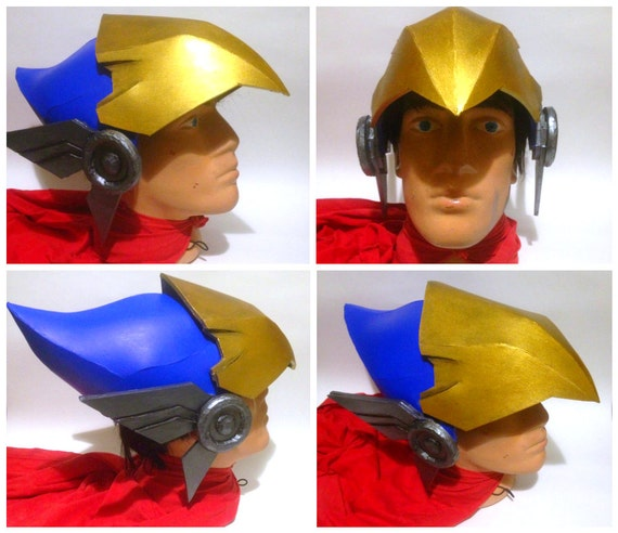 2019 originale super speciali 100% autentico DIY Overwatch Pharah Helmet Pattern Printable Template Cosplay Costume  Armor Eva Foam Game Helmet