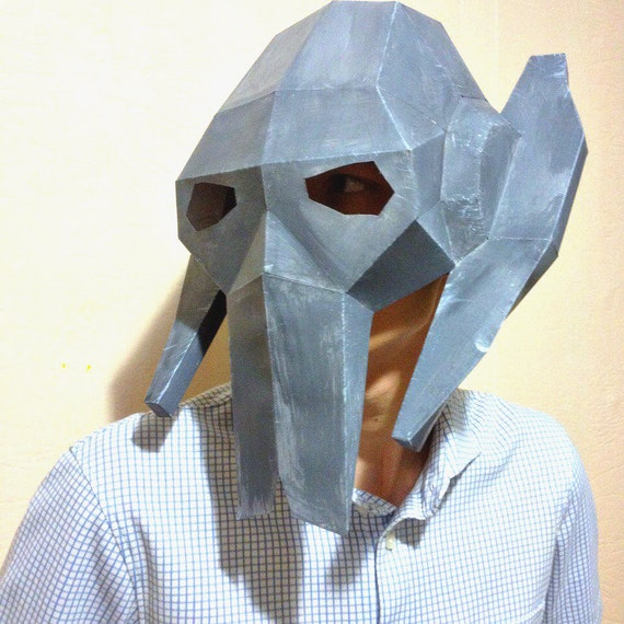 Star Wars Mask General Grievous Papercraft Paper Pdf Cosplay Etsy