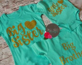 Big Sister Outfit, Big Sister Little Sister Outfits, Matching Sister Outfits, Little Sister Outfit, Big Sister Shirt, Sibling Outfits