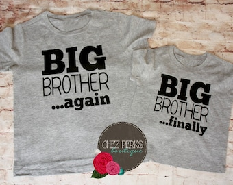 Big Brother Shirt Etsy