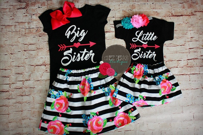d166d12769eae Big Sister Outfit Big Sister Little Sister Outfits Matching | Etsy