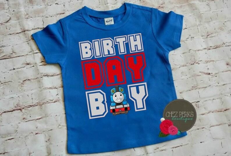 Thomas The Train Birthday Shirt And Friends