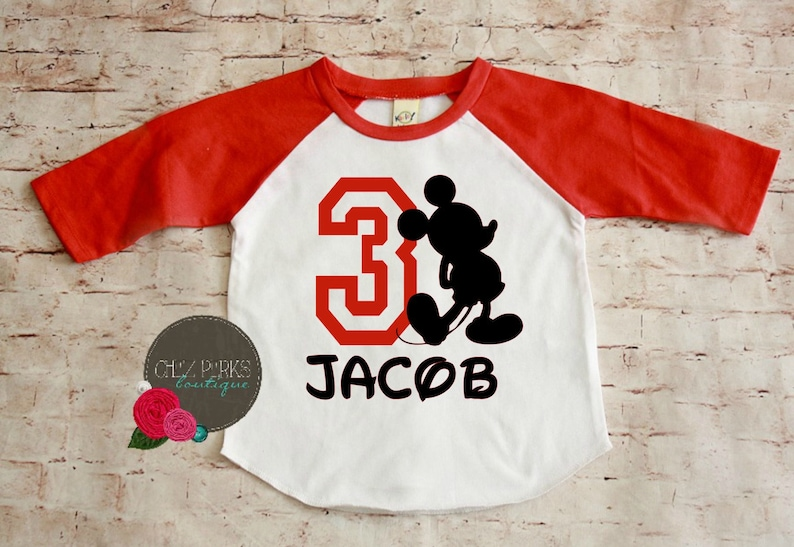 Mickey Birthday Shirt Toddler Mouse Party