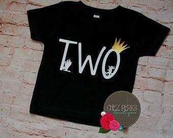 wild two birthday , where the wild things are , wild  , first birthday boy , 2nd birthday  , wild things , wild  birthday shirt