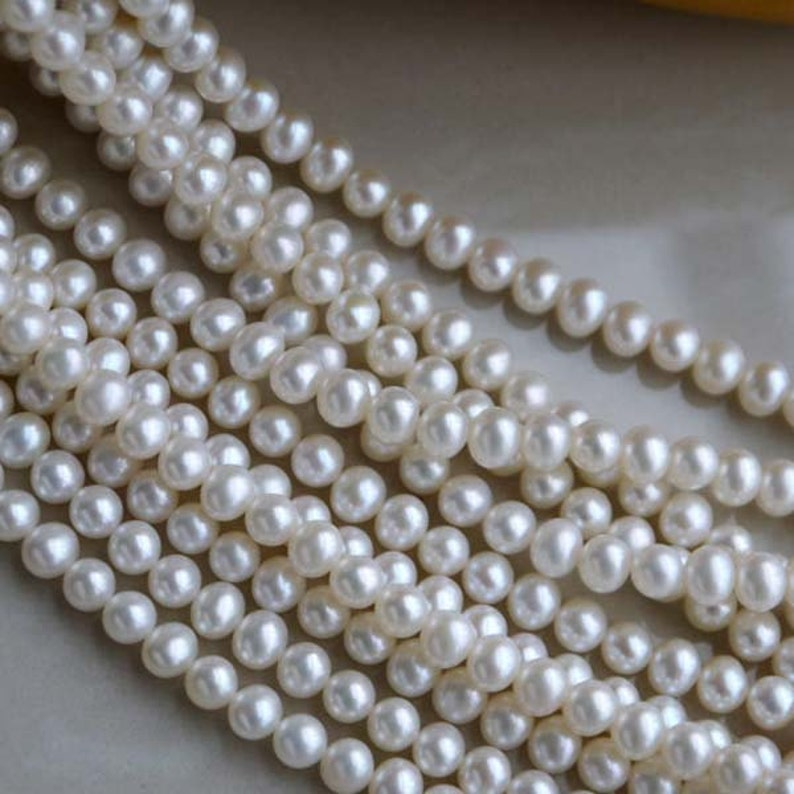 cb1631a74835 Hilo perla agua dulce de alto lustre perlas sueltas