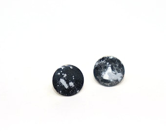 Earrings Full Moon Cosmos