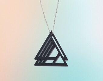 Triangle black chain