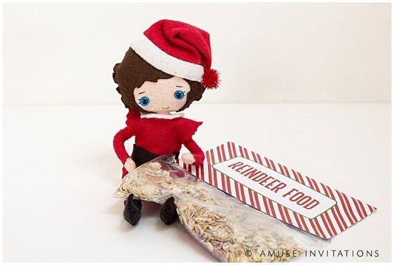 Reindeer Food Fun Christmas Project Christmas Elf Etsy