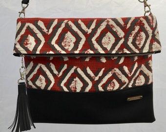 84ca3609c2 Eclectic Vegan Leather Handmade Bags   by NoelleandLola on Etsy