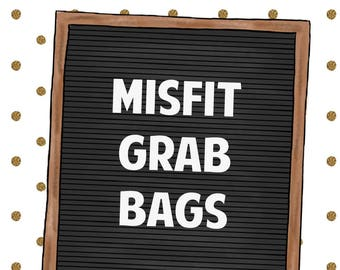 Misfit Grab Bag | 10 Sheets of Imperfect Stickers
