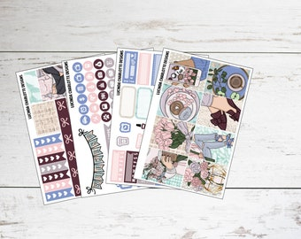 Floral Chic | Mini Planner Sticker Kit