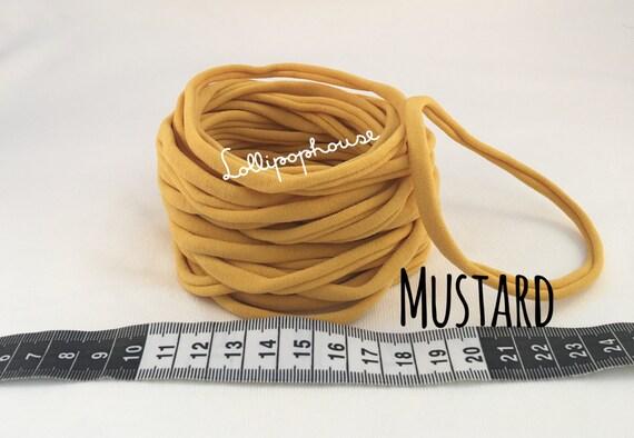 Skinny 100 Wholesale Nylon Headbands One Size fits all bulk nylon headband