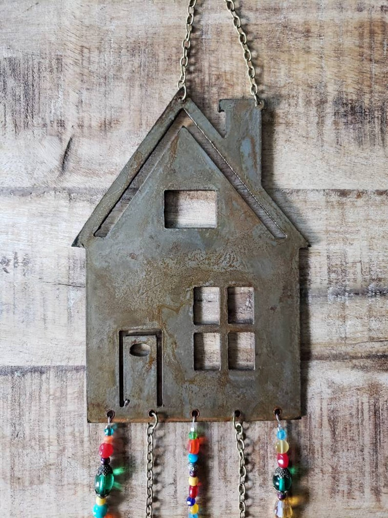 Colorful Home Wind Chime Suncatcher