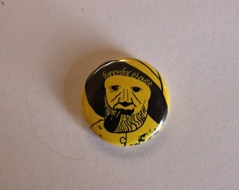 Funny Face House buttons - Old man by the sea