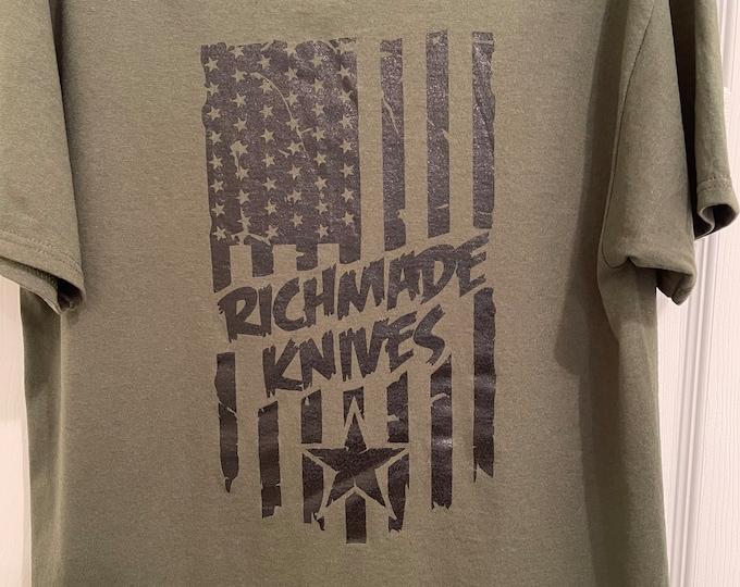 RichMade USA Flag T-Shirt