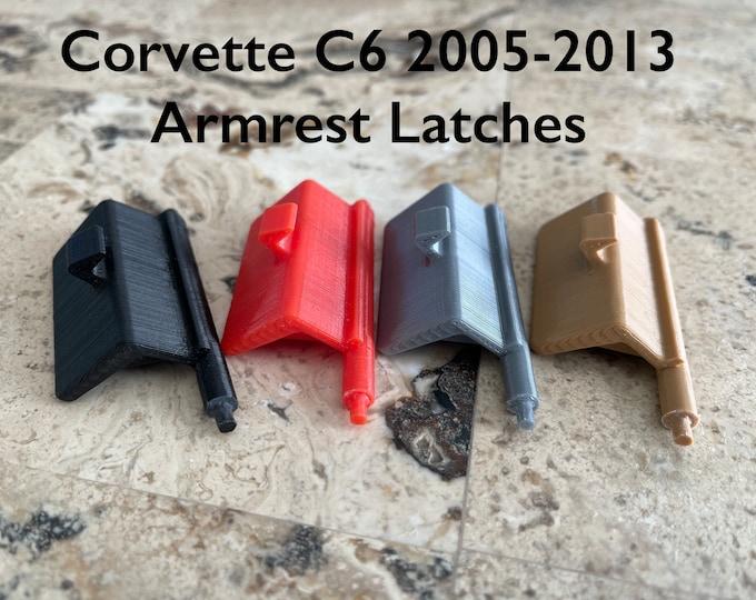 Corvette C6 Armrest Latch